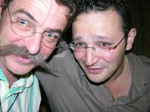 De gauche à droite : Etienne Danchin et Frank Cézilly.