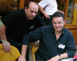 De gauche à droite : Luc-Alain Giraldeau et Frank Cézilly.